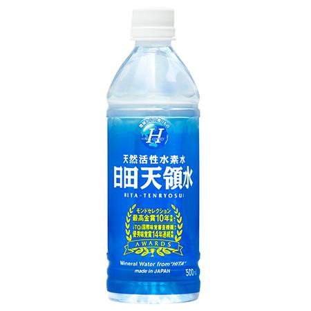 日田天領水 500ml×24本×2梱 日田天領水